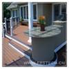 150*23mm wpc basketball outdoor flooring portable basketball flooring removable wpc floor