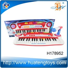 Popular Funny Plastic Children toy piano keyboard with microphone H178952