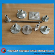 Formwork tie rod for construction