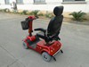 Heavy loading four wheels mini electric mobility scooter 400W Made in China