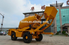 Small type mobile batching plant /self loading