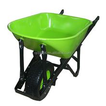 Steel tray wheel barrow / garden cart