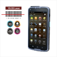 Android industrial 13.56mhz rfid reader PDA , 8G ROM and Gorilla glass touch Screen