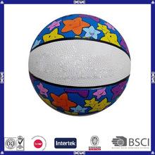 promotional children rubber basketball