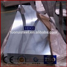 4 x 8 galvanizado de chapa de acero