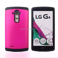 Dual layers protective case for LG G4 blank sublimation combo TPU cover