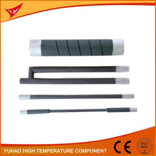 SiC heating element for Furnace, Silicon Carbide Heating Tubes, SIC Heater Pipes