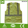 factory /suppliers 100% polyester fabric mesh /solid reflective CEansi mesh vest