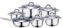 Amazon vendor 12PC Stainless Steel Induction Cookware Set Cooking Pot Casserole Pan