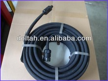 Used tire recycle rubber powder make into pipe production line