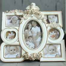 Resin frame loving family tree photo frame sweet standing and hanging for decoration