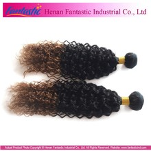 2014 Hot selling fashionable top quality fusion extension ombre color hair extensions
