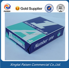 Hot popular double a a4 copy paper 80gsm 75gsm 70gsm , white A4 print copy paper in office