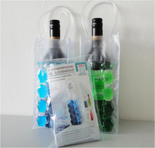 2015 Wine Bottle Cooler / PVC Wine Cooler Bag / Wine Cooler Stick