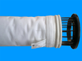 Bolsa filtro aguja de poliéster perforado fieltro / PTFE membrana