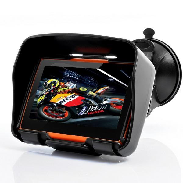 GPS Moto/moto navegador GPS à prova d' água 128 M/256 M RAM + 8G ROM opcional