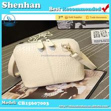 European and American fashion knit shell shoulder lady bag