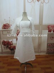 2012 Cheap Simple Satin Two-Piece Pregnant/Maternity Bridal Gown/Wedding Dresses SL-202