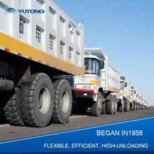 Cummins Engine y aspecto atractivo camión volquete tamaño venta