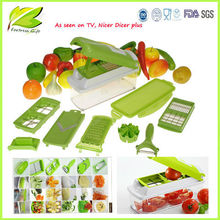 As Seen on TV Multi-function Vegetable & fruite slicer with 12 parts.