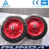 "wheel barrow solid rubber wheel 13""x3"""
