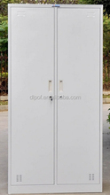 2 Door Metal Steel Lateral Cabinet for Clothing with Hanging Rod (DL-CL2 )