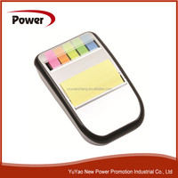 Plastic Memo holder with colorful sticky