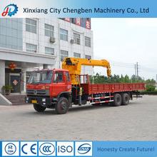 China High Standard Design Mounted Crane Truck Buliding Winch 12t Capacity
