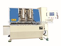 Two heads PP Plastic Broom Making Machine / Broom Drilling and Tufting Combination Machine/ Mono Brush