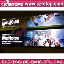 Retop 6mm indoor fixed advertising full color LED sign