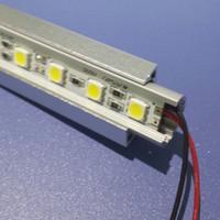 Display case lighting expert! 72 leds V-shape 5000k 5050 smd led strip light light