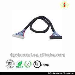 LVDS CABLE IPEX 40PIN 0.5mm pitch 2ch 6bit for 15.6inch 19inch lcd