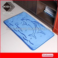Microfiber Washable Kitchen Floor Mats With PVC Backing China Carpet Factory