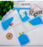 Creative Liquid Cartoon PC Hard Back Cover Case For iphone 6s Soft TPU Bumper Case