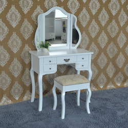 High quality plywood dressing table for bedroom funiture decor