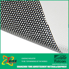 Perforated Vinyl One Way Vision/See through glass sticker