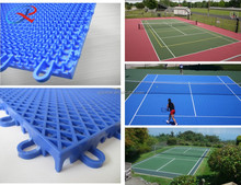 Basketball Sport PP Sports Flooring Interlocking Tiles