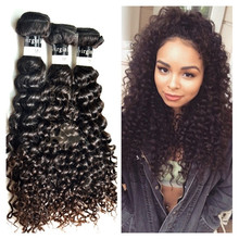 Raw unprocessed curly hair double weft full cuticle unprocessed virgin indian