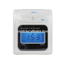 electronic time recorder S-1 with time attendance management program