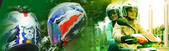 Open Face Motorcycle motor helmet for Ladies