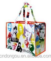 Factory sale custom cheap popular logo non woven polypropylene tote shopping bag