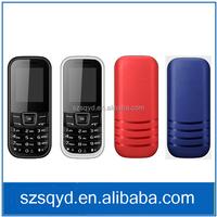 Cheap Quad Band GSM Cell Phone 1.8 inch Screen Dual Sim card South America Phone 1020 FM radio Four Colors 1202 Business Phone