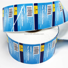 serial number barcode label for packaging