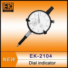 Alta precisão tipo mitutoyo 0-10mmx0.01 relógios comparadores