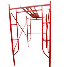 standard Q235 scaffolding frame system