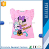 2015 New wholesale kids clothes girls mickey cotton T-shirt
