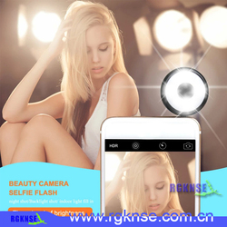 New products 2016 camera selfie flash led ring light