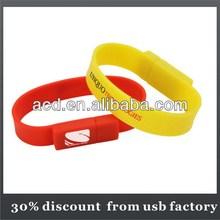 30% discount of bracelet usb flash drive