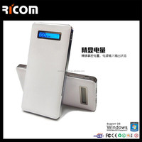 China CE ROHS power bank for smart watch,mobile phones display power bank,new design power bank--PB319 Shenzhen Ricom