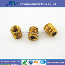 China manufacture Knurling compress plastic copper nut insert nut used instrument
